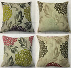 "Rosetti Flower Cushion Cover / Pillow Case 16"" x 16"" Come In 4 Colours UK MADE"