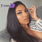 Brazilian Silk Straight 250% density Virgin Human Hair Full /Front Lace Wigs