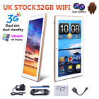 10.1'' inch HD Android Dual Sim 3G IPS Phone Pad Tablet PC Wifi GPS Navi 32GB UK
