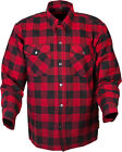SCORPION COVERT BLACK RED Flannel Shirt FREE SHIPPING