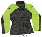 JOE ROCKET RS-2 2 PIECE RAIN SUIT BLACK YELLOW HI VIS FREE SHIPPING