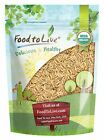 Food to Live Organic Brown Basmati Rice (Raw, Long Grain, Kosher)