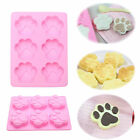 Cute DIY Dog Cat Paw Silicone Fondant Mold Chocolate Cake Kitchen Cook Tool New