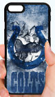 INDIANAPOLIS COLTS NFL  PHONE CASE COVER FOR iPHONE X 8 PLUS 7 6 6S PLUS 5S 5C 4 $14.88 USD on eBay