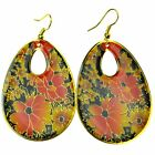 Innocent LifeStyle Oval Round Shape Mix Enamel Earings Ladies Sale 1 Pound Off