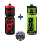 Scitec Nutrition Head Crusher +  Wod Crusher Fitness Minerladrink Trinkflasche