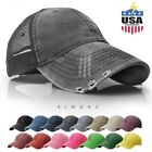 Mesh Trucker Hat Cotton Solid Washed Polo Style Baseball Cap Snapback Summer