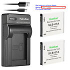 Kastar Battery Charger for Samsung SLB-07 SLB-07B SLB-07EP S
