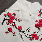 clothing patch - Blossom Flower Applique Clothing Embroidery Patch Sticker Iron On Sew Cloth DIY