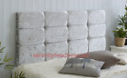 !High Quality Diamante Designer Headboard Crushed Velvet 2FT6 3FT 4FT 4FT6 5FT!