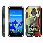 For LG Stylo 3 / Stylus 3 / Stylo 3 Plus Rugged Holster Belt Clip Case Kickstand