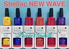 CND Shellac NEW WAVE gel polish ~ Pick BANANA BLUE ECSTASY J