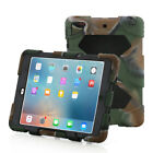 Defender Shockproof Rugged Hard Case W/Drop Proof Kids Proof Cover for iPad 2 4