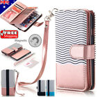 For iPhone X 6S 7 8 Plus Luxury Wallet Case Flip Leather Removable Magnet Cover