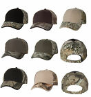 Kati Solid Front Camouflage Cap Mossy Oak Realtree Camo Baseball Hat LC102