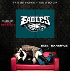 Philadelphia Eagles Logo Hockey Art HUGE GIANT PRINT POSTER