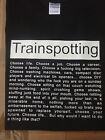 TRAINSPOTTING CHOOSE LIFE T-SHIRT BLACK