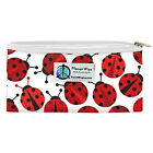 "Zippered Snack Bag from Planet Wise reusable fun cute designs 5.5 x 7 "" Inches"