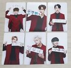 GOT7 FLIGHT LOG ARRIVAL NEVER EVER OFFICIAL PHOTOCARD