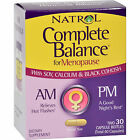 Menopause Treatment Hot Flashes Mood Swing Pills Natural Remedy AM & PM Capsules