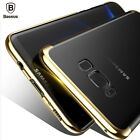 Baseus Samsung Galaxy S8 Slim Electroplated Hard PC Case Back Cover For S8+ Plus