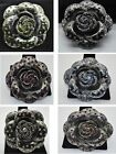 vintage style high-quality fashion jewelry flower wedding bouquet brooch pin #01