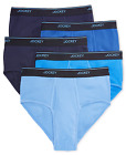Jockey Men's Essential Fit Cotton Staycool Mid-Rise Briefs 4 Pack or 5 pack