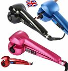 PRO LCD Automatic Anion Hair Curler Curling Salon Iron Roller Styling UK Plug
