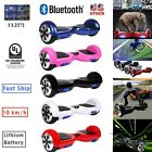 """6.5"""" UL Listed 2 Wheel Safety Bluetooth Electric Balancing Scooter Skateboard"""