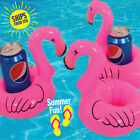 3 pieces Inflatable Flamingo Shape Drink Holder Pool Float