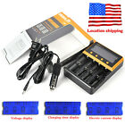 U.S.A Smart C4 i4 4-Slot Fast Charging Kit Ni-MH/Li-ion AAA 18650 26650 Charger
