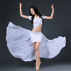 New Sexy 2017 women Belly Dance Costumes Club 2pcs Top & Long Skirt