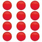 """Set of Red Air Hockey Pucks Replacements 2.5"""" Game Table Equipment Accesories"""