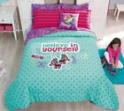 Girls and Teens Twin and Full Skates Comforter Set