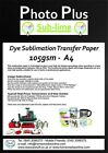 Dye Sublimation Transfer Paper for Ceramics & T-Shirts