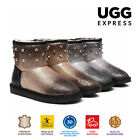 UGG Boots Stella - Dazzling Make Over, Studded Design,  Australian wool lining