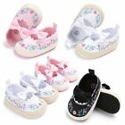 Flower Baby Infant Kid Girl Soft Sole Crib Toddler Summer Princess Sandals Shoes