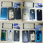 Full Housing Case + Screen Glass Lens + Tools For Samsung Galaxy Repair Part