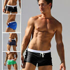 Men's Briefs Boxer Shorts Swimming Swim Trunks Swimwear Pants Underwear US Stock