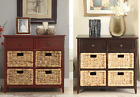 Accent Drawer Storage Chest Entryway Sofa End Console Bedroom Dresser Furniture