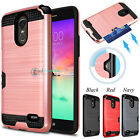 activate at&t go phone sim card online - Hybrid Shockproof Wallet Card Slot Phone Case Cover for LG Stylo 3 /Stylo 3 Plus