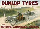 DUNLOP TYRES TIRES CAR CYCLE LORRY MOTORBIKE BICYCLE METAL PLAQUE TIN SIGN 269