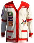 Order Of the Eastern Star Womens Wool Sweater White