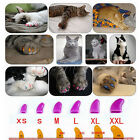100Pcs New Soft Rubber Pet Dog Cat Puppy Paw Claw Control Nail Caps Cover Color