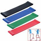 4 Color Resistance Loop Band Exercise Yoga Band Rubber Fitness Training Strength image