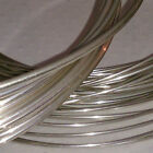 925 Sterling Silver Round Wire (Hard) 0.5mm to 1.5mm <br/> MULTI-LISTING. YOU CHOOSE THE WIRE DIAMETER AND LENGTH