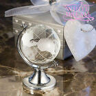 Crystal Globe - Wedding / Party Favours | Table Decoration | NEW | Spins on Axis