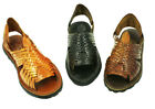 Ladies Genuine Authentic Soft Leather Mexican Sandal Style Pachuco