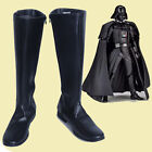 Star Wars Darth Vader Cosplay Boots Black Shoes Cos Accessories Customized J.038 $37.9 USD on eBay