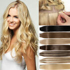 20pcs tape in bande adhesive Curly Tape Band 100% Human Hair Extensions 50g